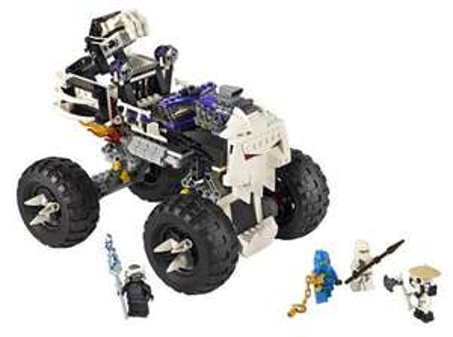 Lego ninjago 2605 monstertruck
