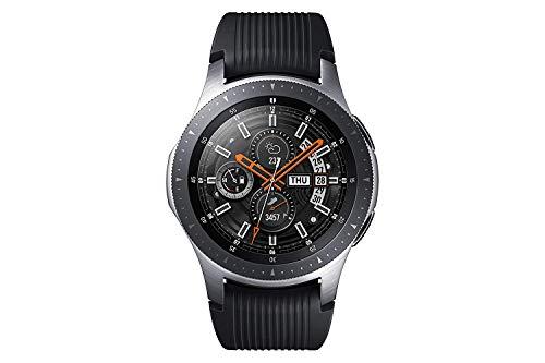 """Samsung Galaxy Watch 46mm Bluetooth Silber (1,3"""" 360x360 AMOLED, 63g, 768MB/4GB, Exynos9110, Tizen, IP68, 472mAh)"""