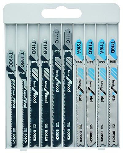 Bosch Professional 10-tlg. Stichsägeblatt-Set Metall/Holz für Stichsägen mit T-Schaftaufnahme für 6,60€ inkl. VSK [Prime]