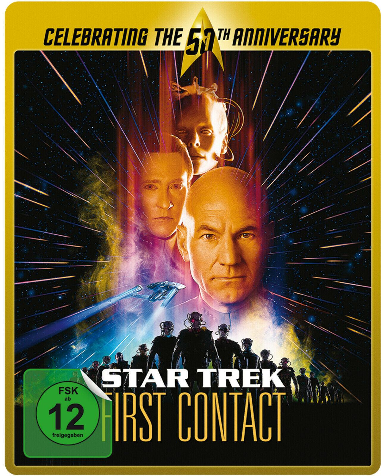Star Trek VIII: Der erste Kontakt & Der Zorn des Khan - Remastered Limited Steelbook Edition (Blu-ray) für je 6,81€ (Media Markt Abholung)
