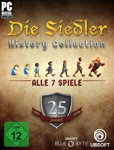 Die Siedler History Collection (Uplay) für 14€ (Ubisoft Store)