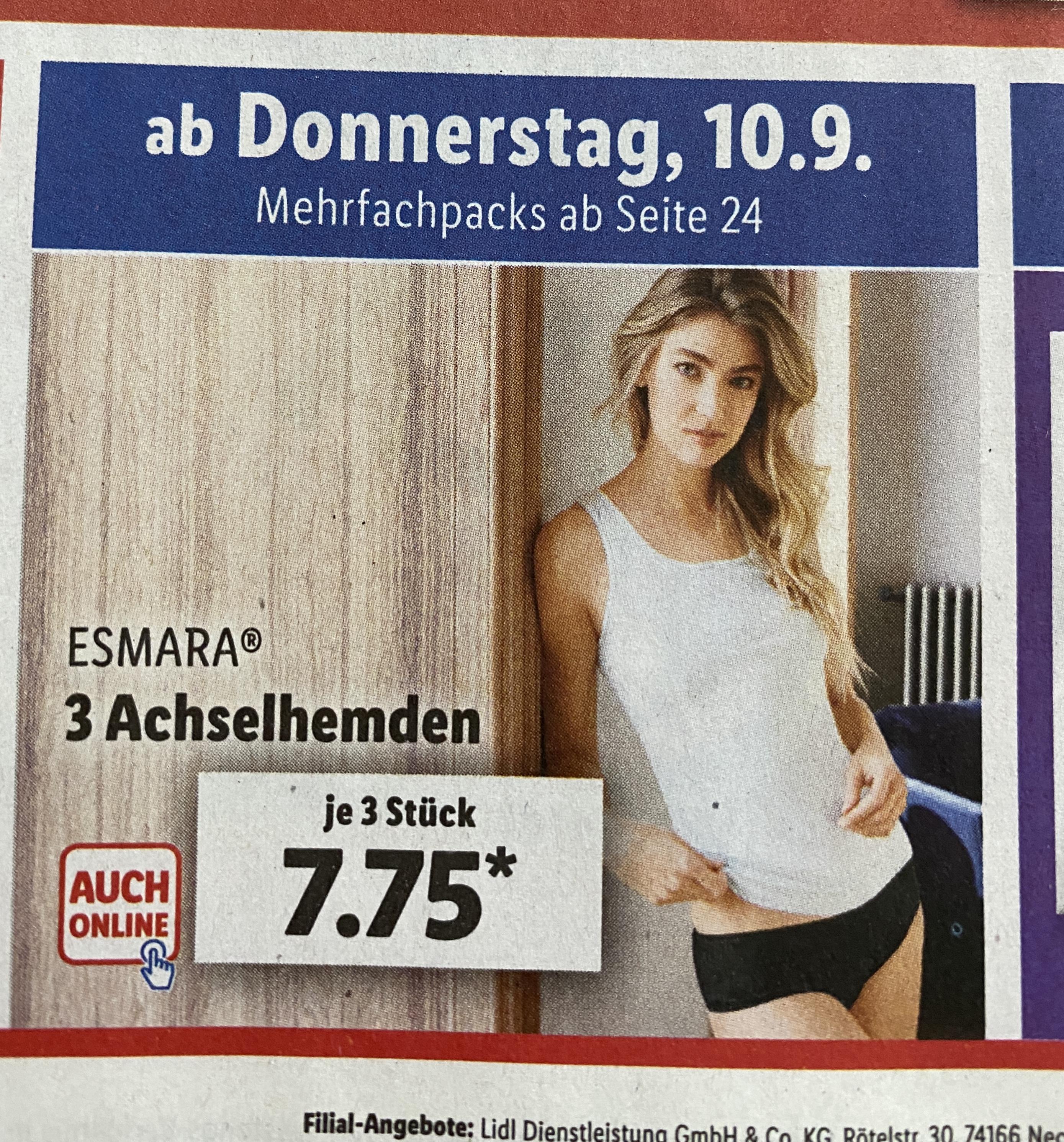 Damen-Unterwäsche bei Lidl (keine Dessous, aber trotzdem schön!) - ab Donnerstag