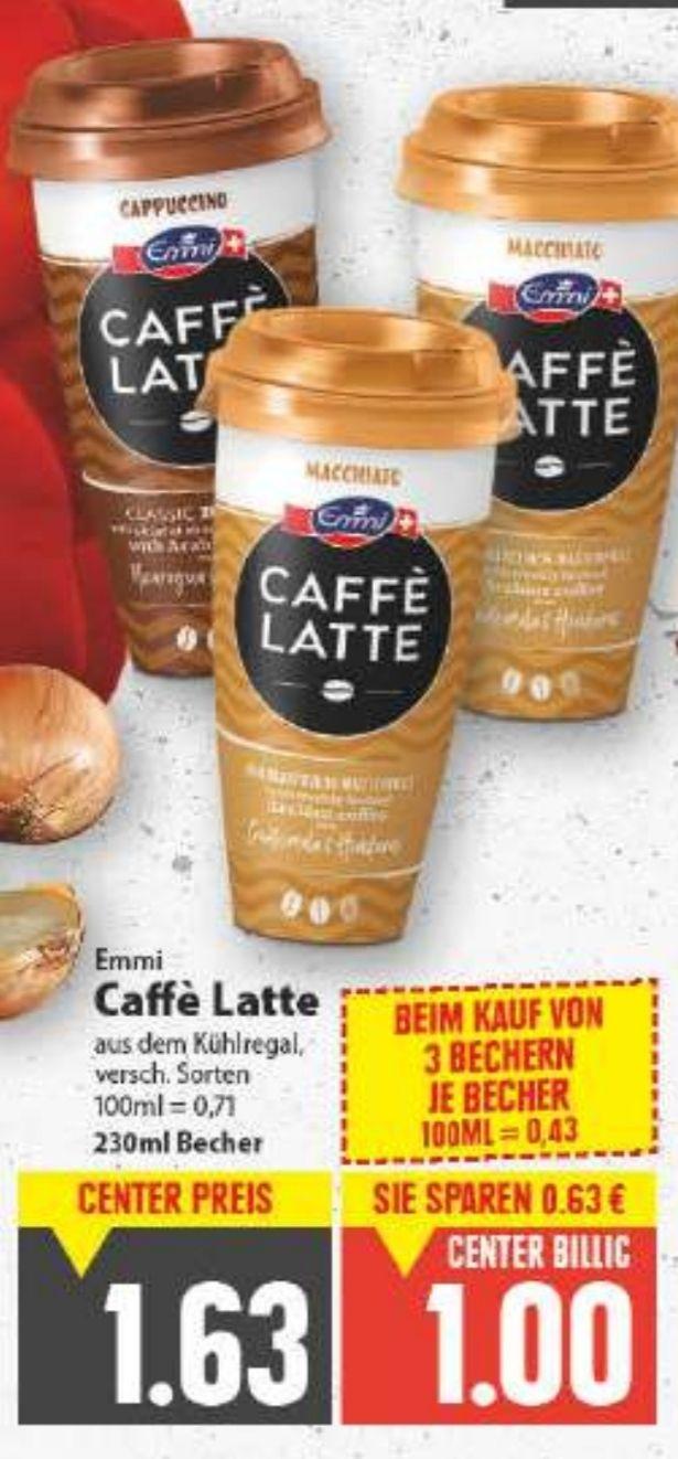 [Edeka Center Minden-Hannover] 6x Emmi Caffé Latte 230ml mit Coupies Cashback für effektiv 3€