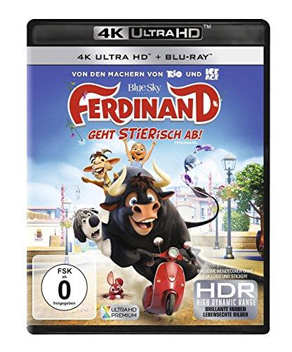 Ferdinand - Geht STIERisch ab! 4K (4K UHD + Blu-ray) für 11,78€ (Amazon Prime)