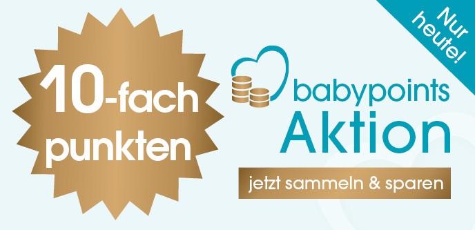 Babymarkt: Nur heute 10-fach babypoints