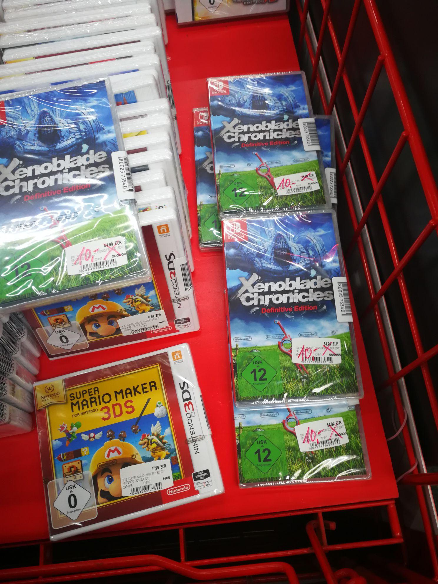 Lokal Media Markt WESERPARK Bremen - Xenoblade Cronicles Definitive Edition (Nintendo Switch)