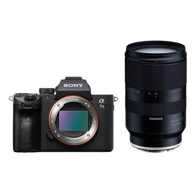 Sony Alpha 7 / A7 III (ILCE-7M3) + Tamron 28-75mm f/2,8 Di III RXD Sony FE-Mount