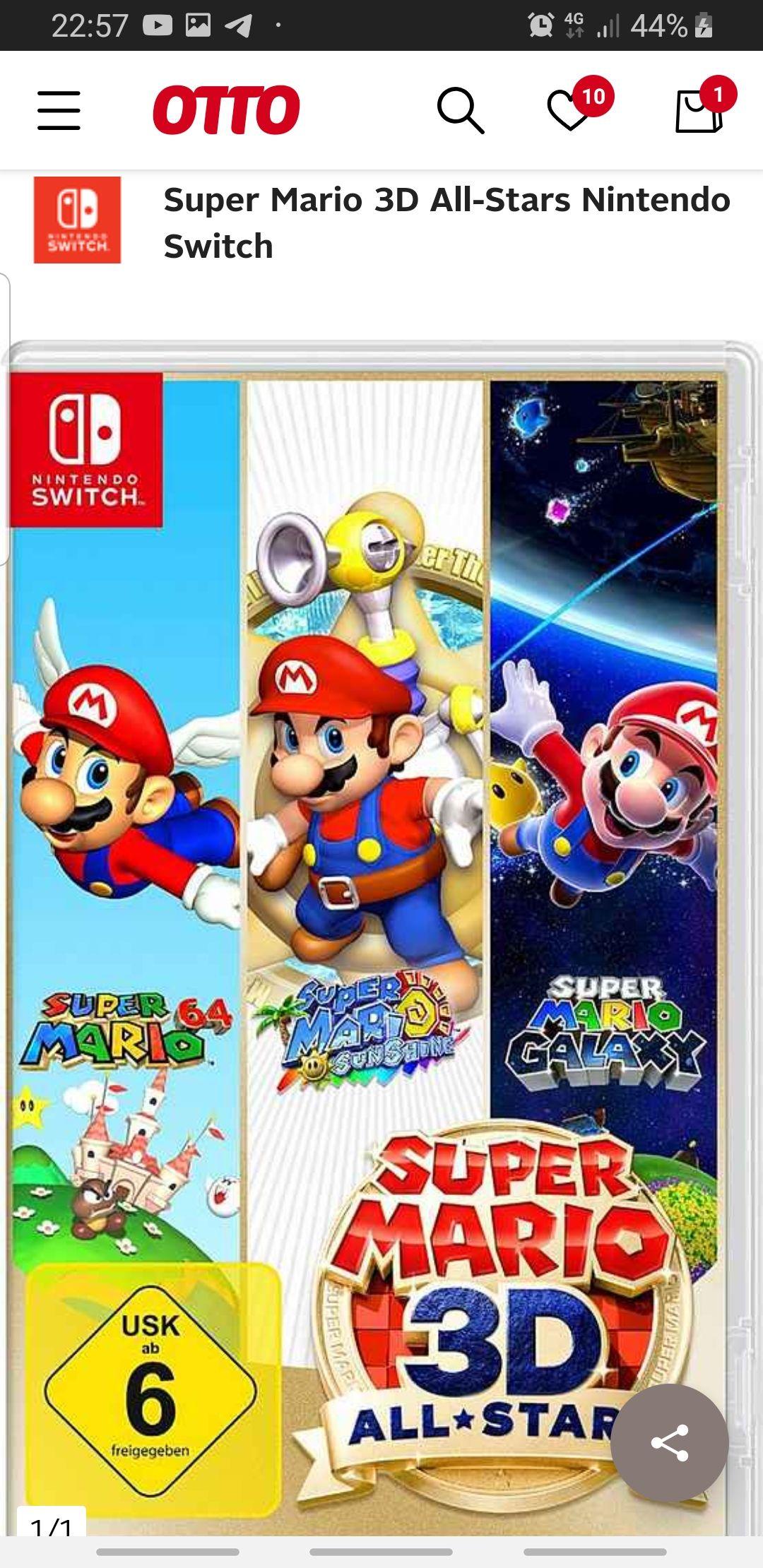 Super Mario 3D All-Stars (Otto NK + Lieferflat)