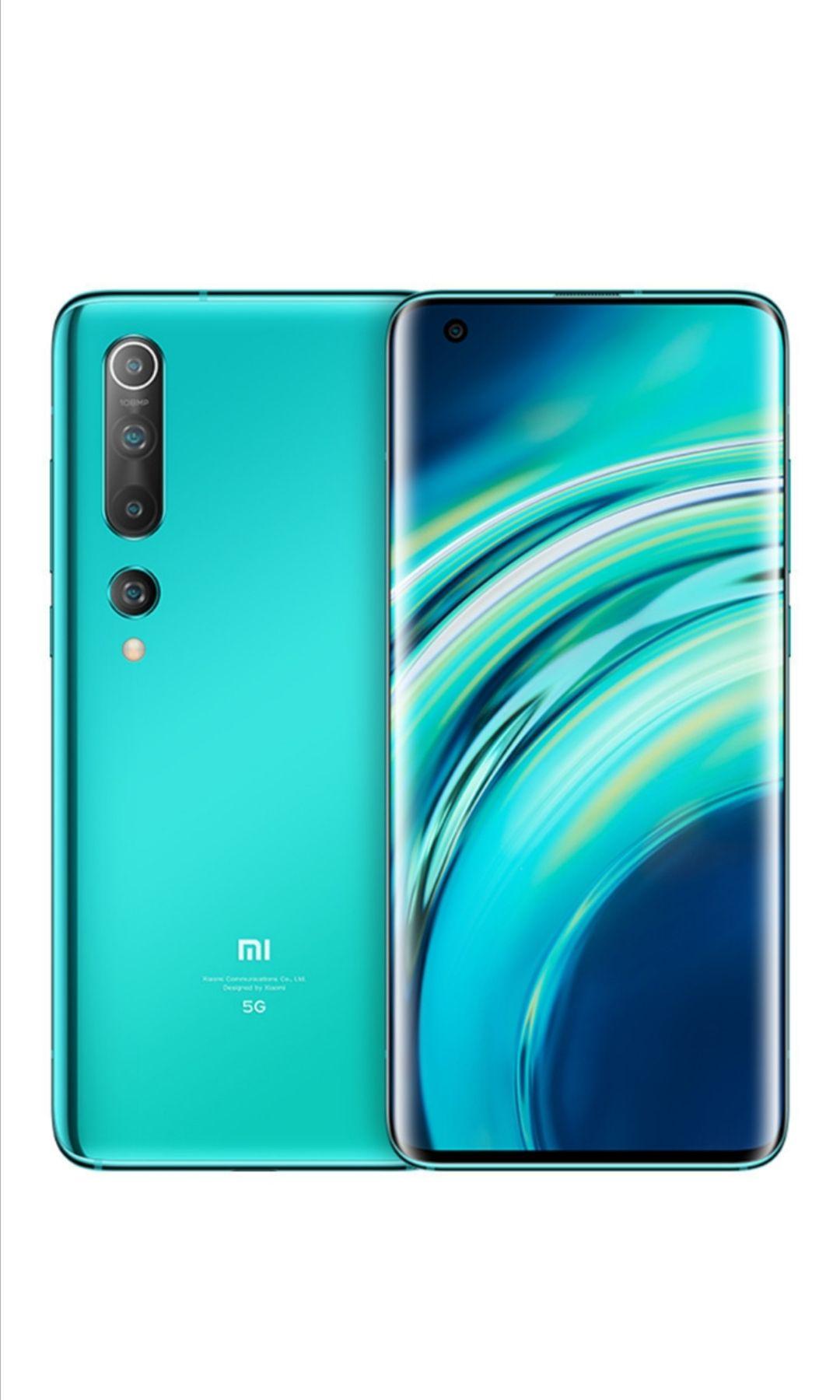 Xiaomi Mi 10 Coral Green oder Twilight Grey 128GB 5G 8GB RAM 108 Megapixel