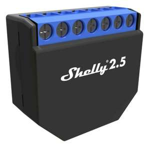 Shelly 2.5 WLAN-Relais