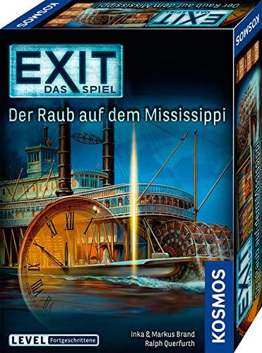 KOSMOS EXIT - Das Spiel - Der Raub auf dem Mississippi, Level: Fortgeschrittene, Escape Room Spiel für 7,39€ (Amazon Prime)
