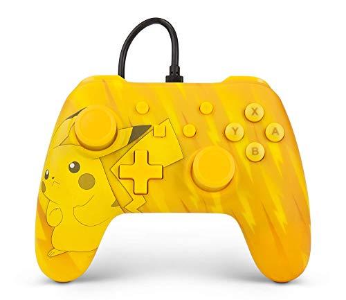 PowerA Nintendo Switch Wired Controller (Pokémon Pikachu Static, Pikachu) für je 23,66€ (Amazon FR)