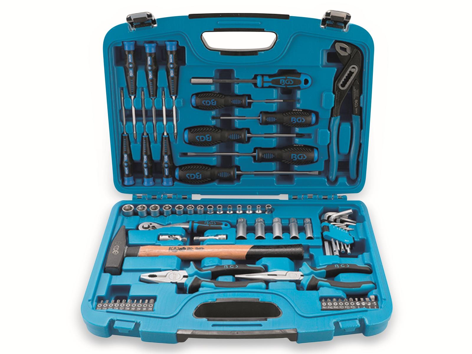 BGS 2217 Universal Steckschlüssel-Werkzeugkoffer für Zuhause