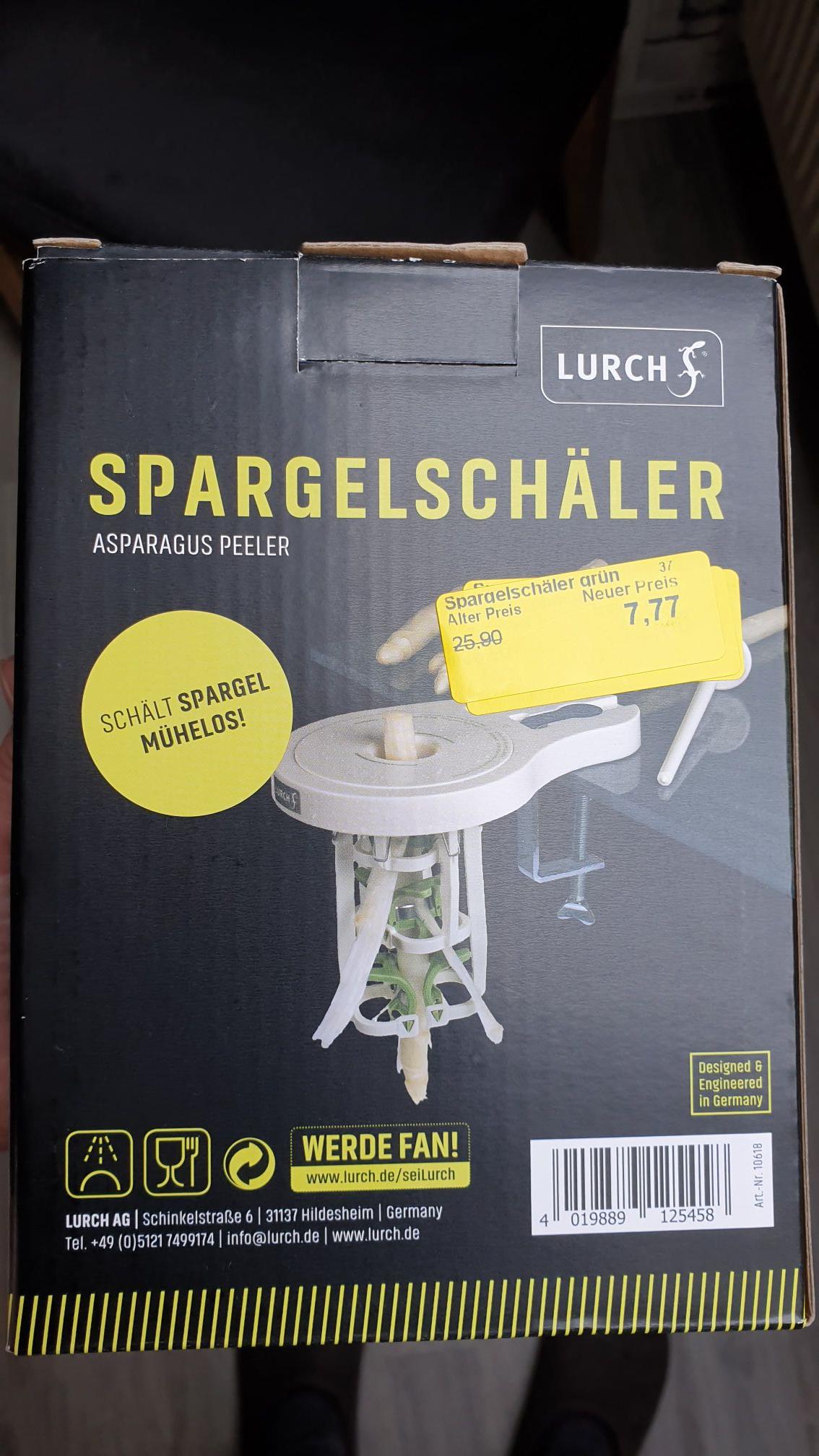 Lurch Spargelschäler Lokal Famila in Vechta