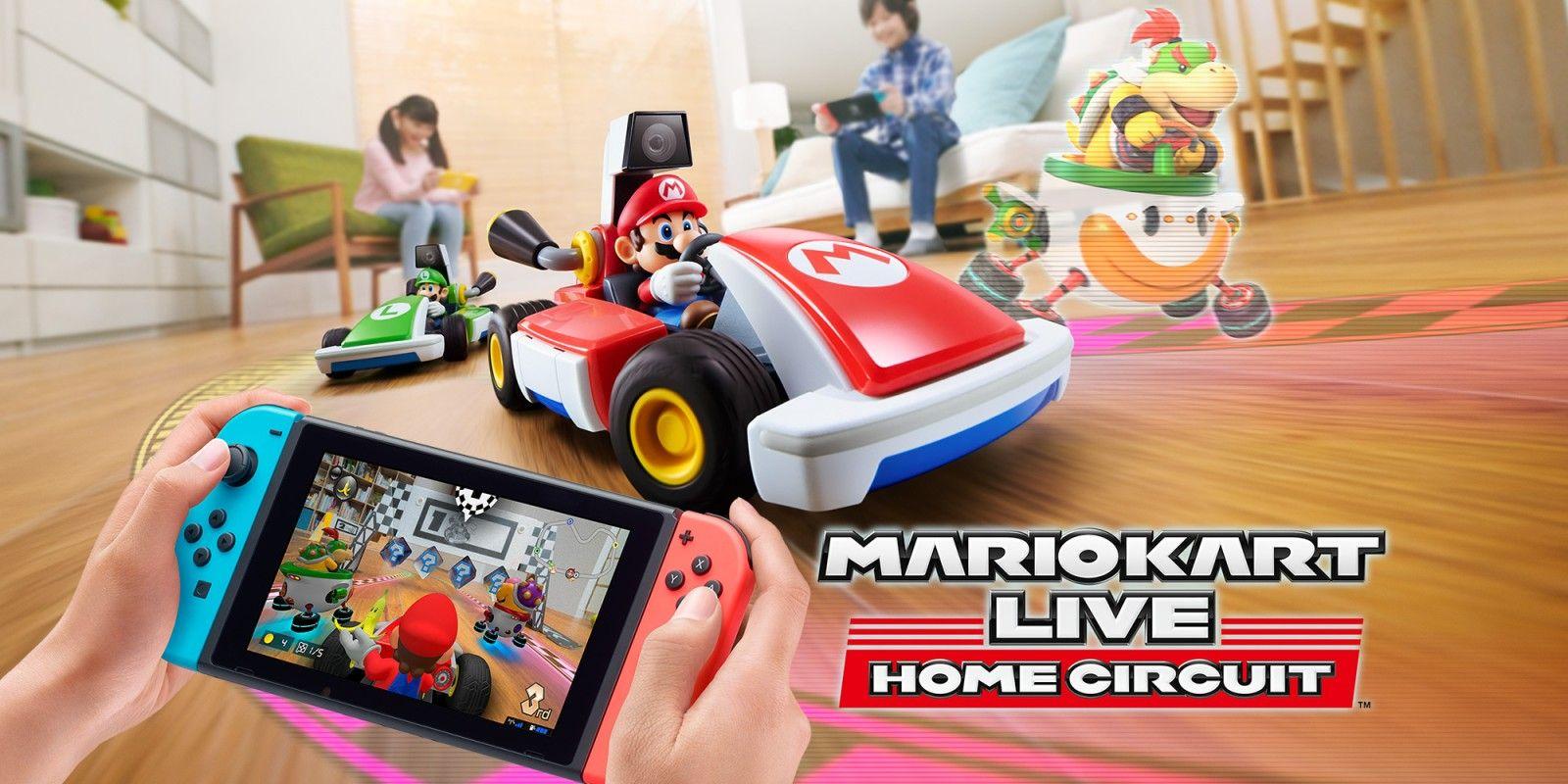 Super mario kart live für die switch