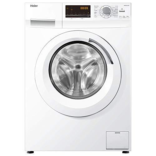 Haier HW100-14636 Waschmaschine FL/A+++/220 kWh/Jahr/1400 UpM/10 kg/Aqua Protect Schlauch [Energieklasse A+++]