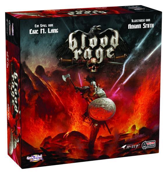 Asmodée Blood Rage Brettspiel