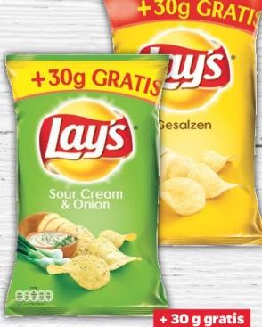 [ThomasPhilipps] 205g Lays Chips gesalzen oder SourCream&Onion (3,32€/kg)