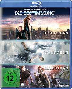 Die Bestimmung - Triple Feature (3-Filme Set Blu-ray) für 9,47€ (Amazon Prime)