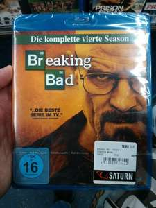 [Lokal? Saturn Hamburg Altstadt] Breaking Bad Staffel 4 [Blu-ray]