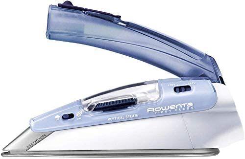 Rowenta DA1510 Focus Travel Reisebügeleisen, max. 1000W, 45g/min Dampfstoß, Dampf-Bügeleisen ohne automatische Abschaltung [Amazon Prime]