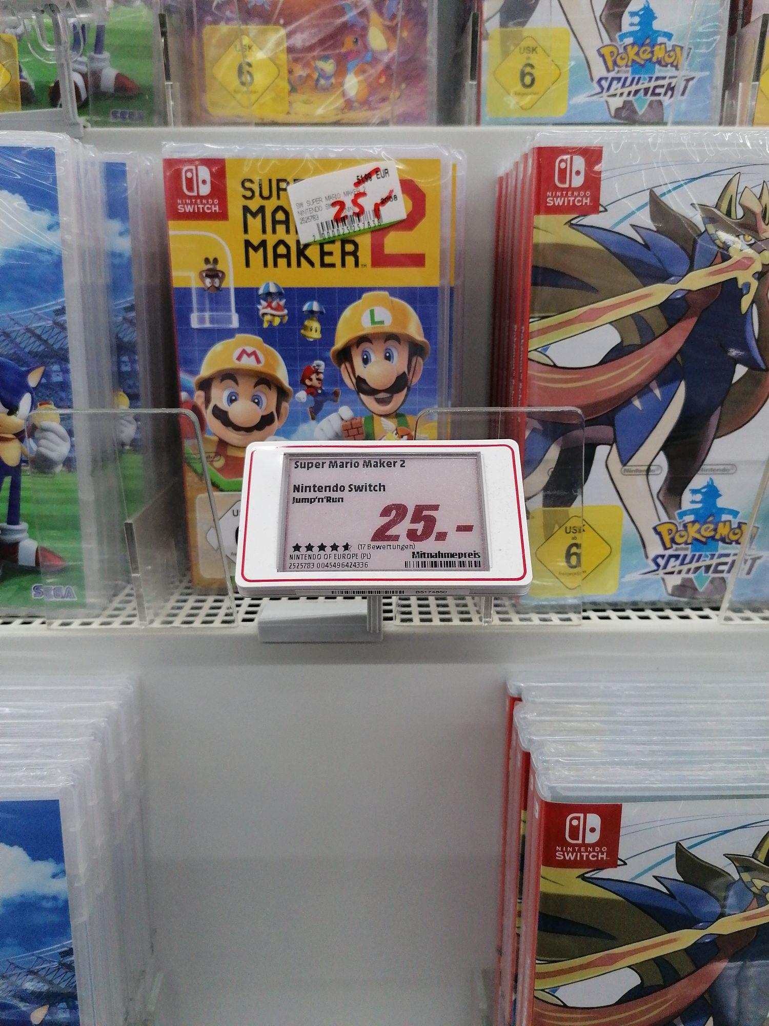 Lokal Paderborn Media Markt - Super Mario Maker 2 (Switch)