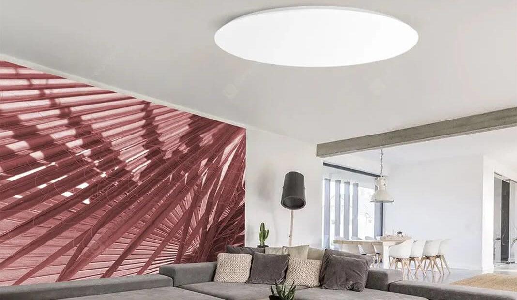 Yeelight YLXD42YL Deckenlampe mit HomeKit (48cm, 2200lm, 2700K - 6000K, 95Ra) für 76,24€