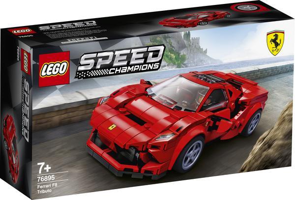 Wieder da: 76895 LEGO® SPEED CHAMPIONS Ferrari F8 Tributo
