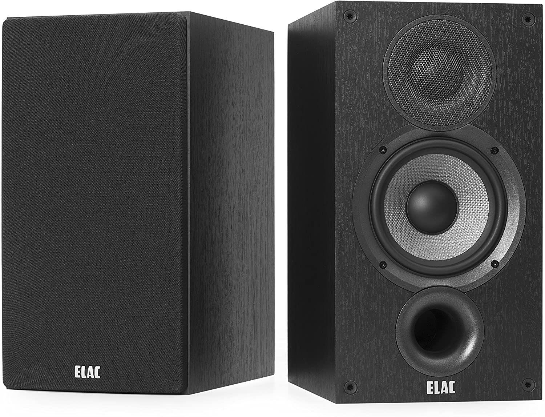 ELAC Debut B5.2 Regallautsprecher 120 Watt - Schwarz (Paarpreis)