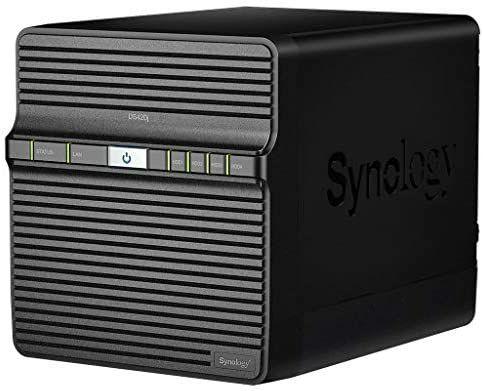 [Amazon] Synology DS420j 56TB 4 Bay NAS Server Installiert mit 4 x 14 TB Seagate IronWolf-Laufwerken