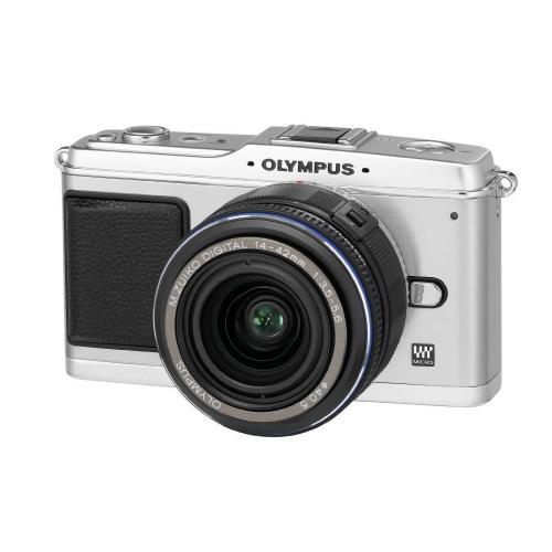 Olympus PEN E-P1 Systemkamera [Body] mit VSK (amazon)