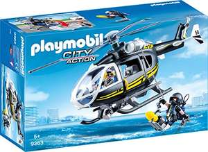 Playmobil City Action - SEK Helikopter (9363) für 12,99€ (Amazon Prime & Real Abholung)