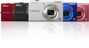 """[Saturn] Nikon Coolpix S6200 16 Megapixel, 10fach optischer Zoom (25-250mm), 2,7"""" LC Display,"""