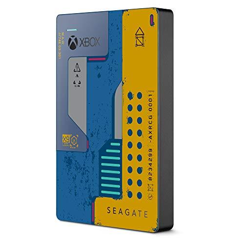 Seagate Game Drive für Xbox Cyberpunk 2077 Edition, 2 TB, 2,5 Zoll, USB 3.0 für 73,03€ (Amazon ES)