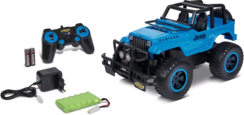 CARSON - 1:12 Jeep Wrangler 2.4GHz 100% RTR, RC-Fahrzeug, 2 WD, inkl. Batterien & Fernsteuerung für 34,12€ (Müller Abholung)