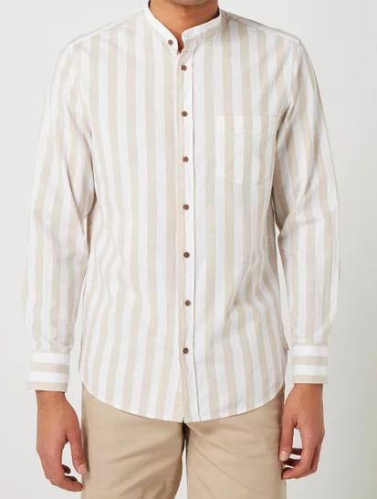 Montego Regular Fit Freizeithemd aus reiner Baumwolle durch 30% on top auf Sale
