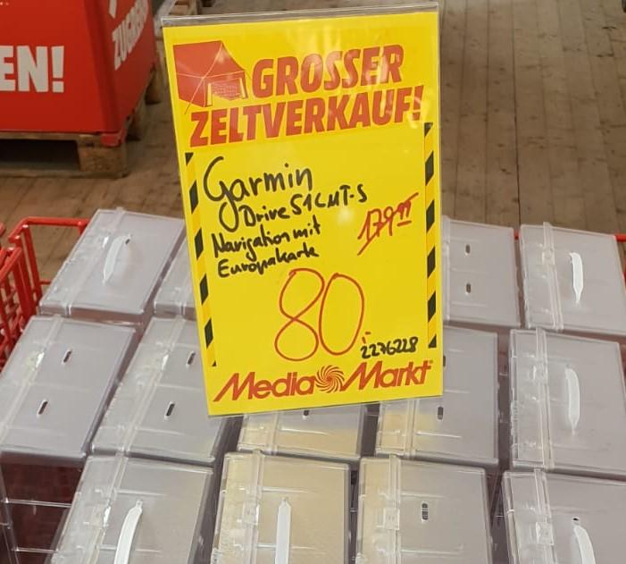 """[Lokal] Media Markt Essen GARMIN Drive 51 LMT-S EU 80 € / PEAQ PMO S320 31,5"""" WQHD Monitor 189 €"""