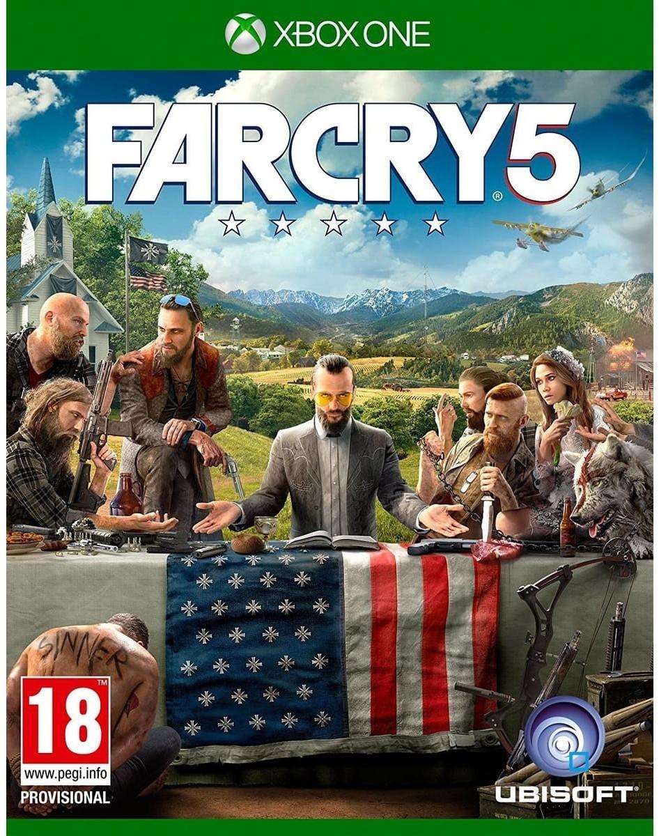 Far Cry 5 (Xbox One Disc) für 9,82€ (MS Store UK)