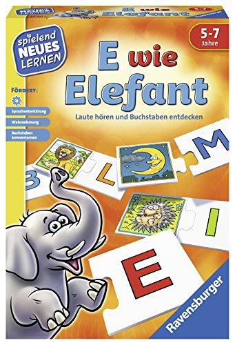 Ravensburger Spielen und Lernen - E wie Elefant für 8,63€ (Amazon Prime)