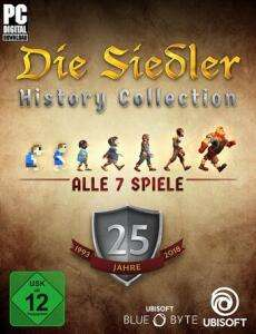 The Settlers History Collection (Uplay) for 11.20 € (Ubisoft Store)