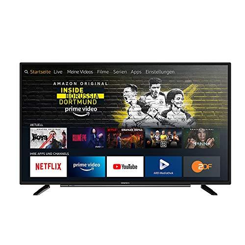Grundig Vision 6 - Fire TV Edition (43 VLE 6010) 109 cm (43 Zoll) Fernseher (Full HD, Alexa-Sprachsteuerung, Magic Fidelity) [Amazon]
