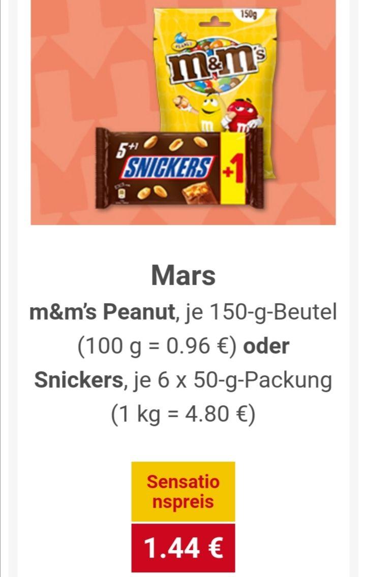 Snickers/mars/bounty Riegel