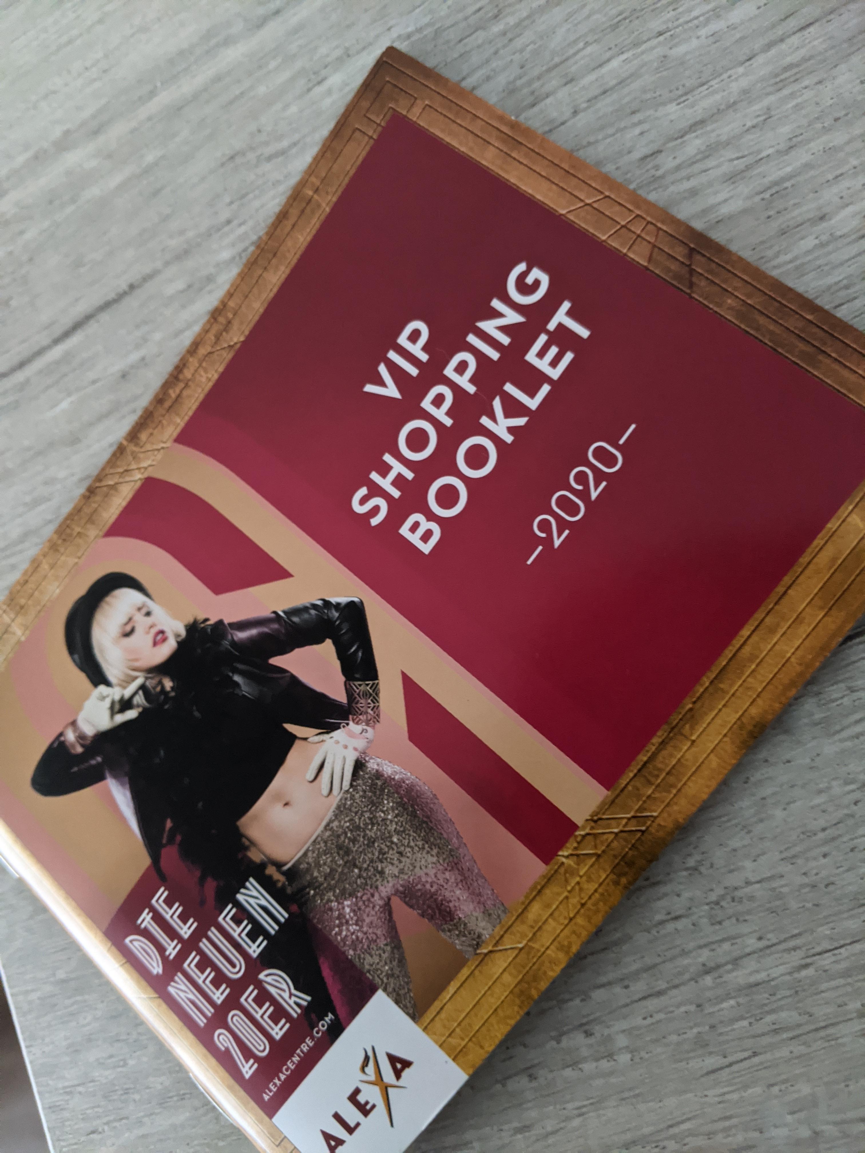 VIP Shopping Bookling - Berlin Mall Alexa - bis zu 25% Rabatt in allen Stores