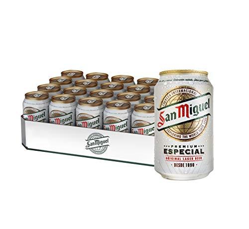 [Amazon Prime] 24 Dosen San Miguel Especial Bier (0,62 EUR pro Dose / 1,89 pro Liter) exkl. Pfand