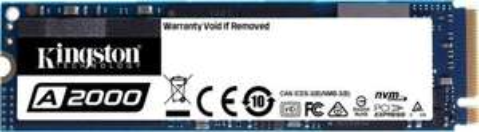 Kingston A2000 1TB SSD (NVMe PCIe 3.0 x4, M.2 2280, TLC, DRAM Cache, 5 Jahre Garantie, 600 TBW, bis zu 2200/2000 MB/s R/W) [Media-Saturn]