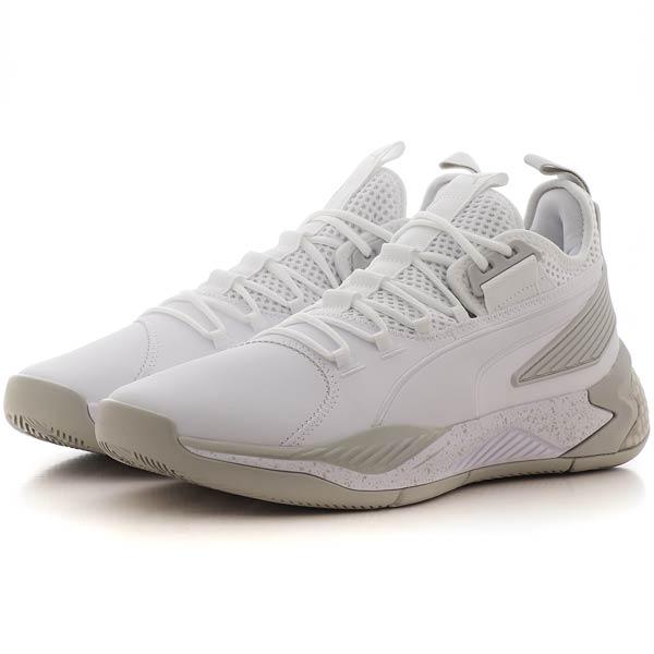 Puma Basketball Schuh Uproar Core in Weiß - alle gängigen Größen