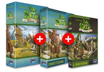 Isle of Skye Brettspiel Bundle bei der Spiele Offensive