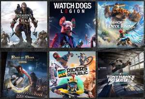 Assassin's Creed Valhalla | Watch Dogs Legion | Immmortals Fenys Rising | Riders Republic [für 39,75€ vorbestellen] Prince of Persia 24,98€