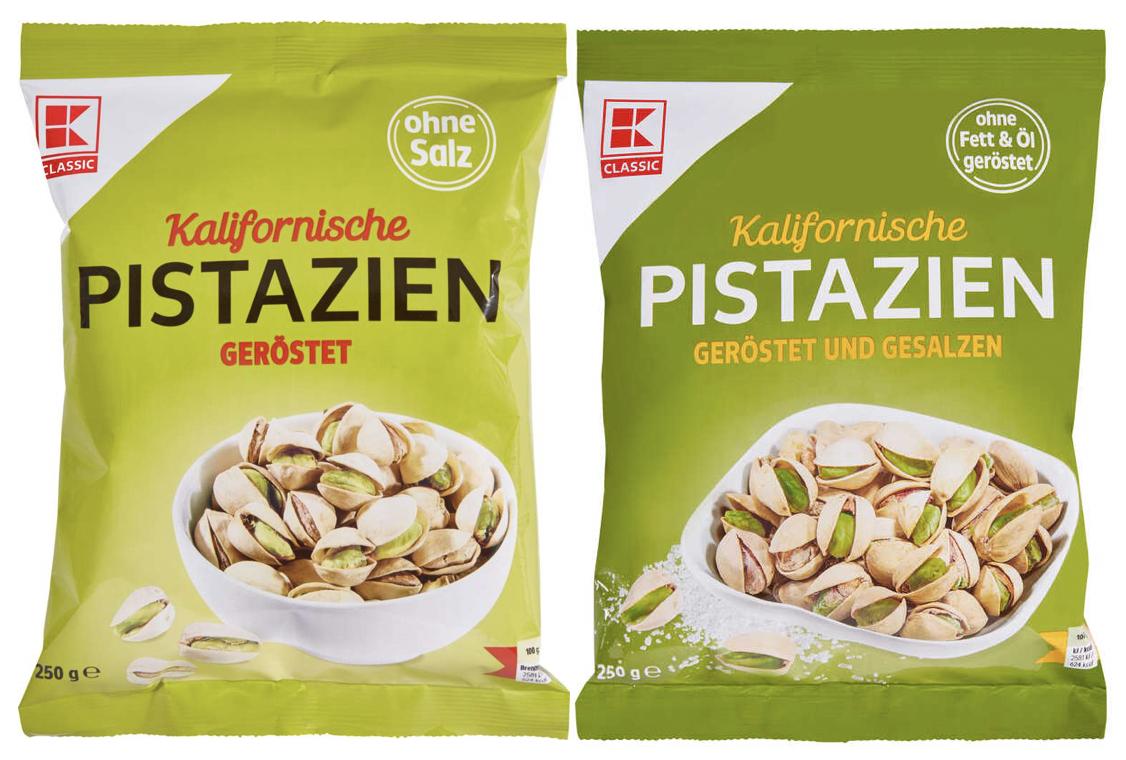 K-Classic Pistazien 250g Tüte versch. Sorten für je 2,72€ &. Katjes versch. Sorten für je 0,44€[Kaufland]