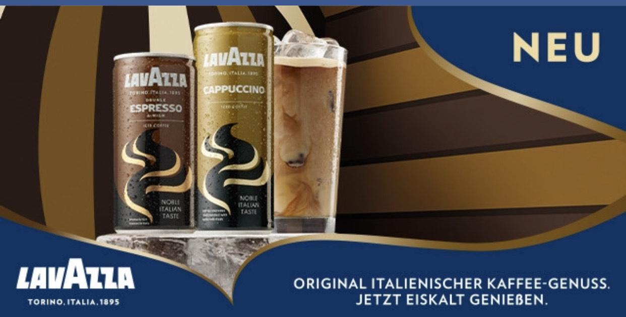 [Rewe] Lavazza Eiscafé Cappuccino oder Espresso - Die Dose effektiv für 0.79€ durch Cashback